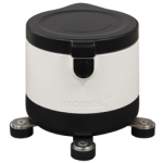 Shielded container with GR1 CZT-based gamma radiation detector perfect for in-field and lab work