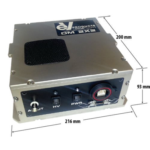DMatrix gamma ray Imager is a fully integrated photon counting pixilated, 12-Bit energy discriminating CZT detector/imager