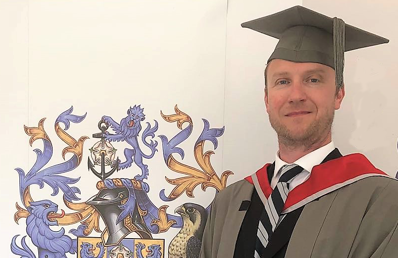 Congratulations to Barry HNC/D in Electrical Electronic Eng.