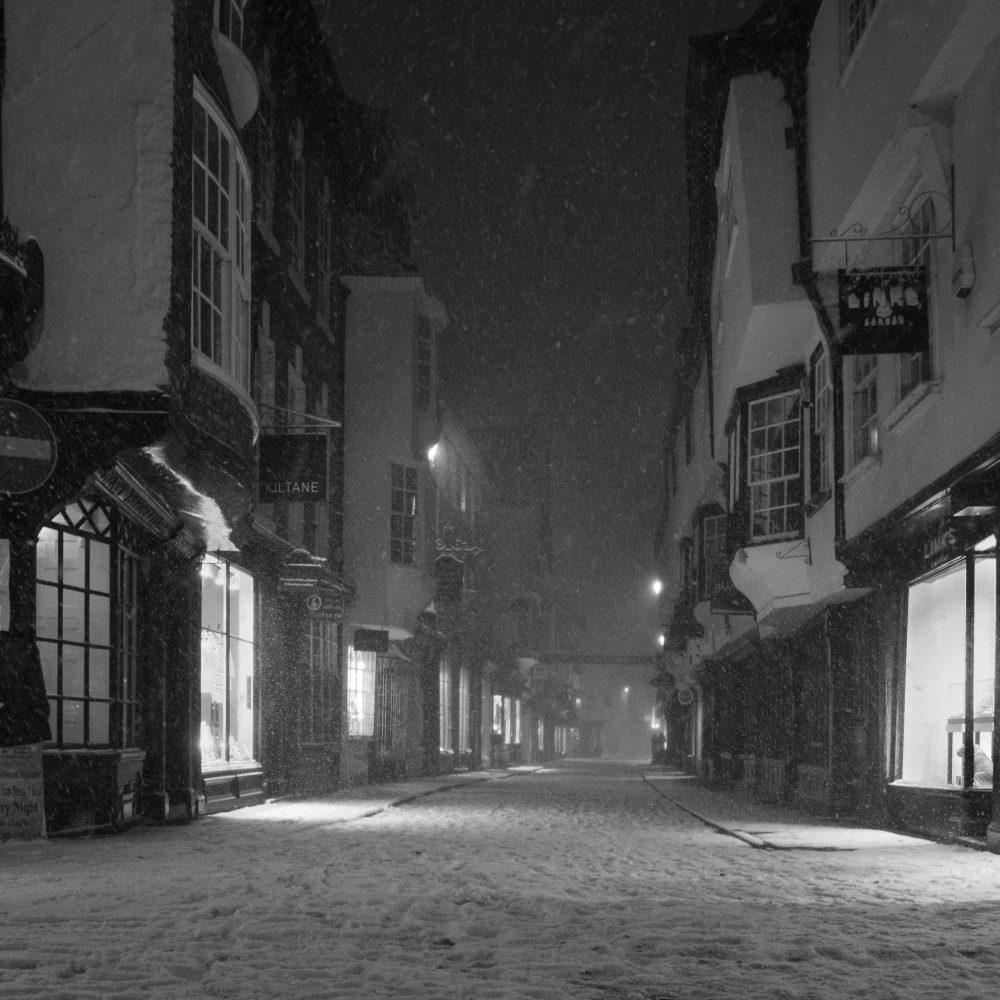 York streets, Yorkshire
