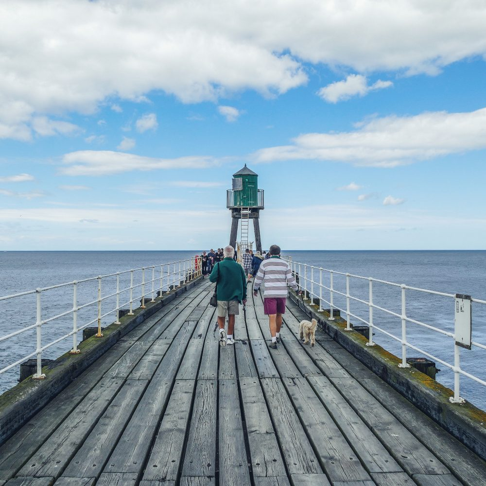 Whitby Pier, Yorkshire