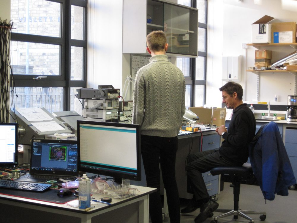 Kromek Physicists working