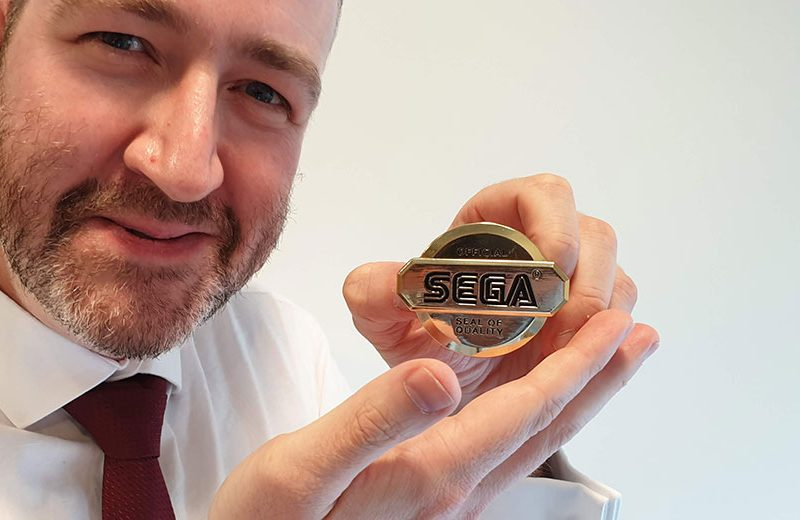 Adam awarded SEGA Seal of Quality