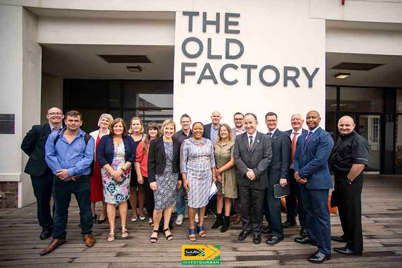 Trade mission to South Africa Durban Chamber