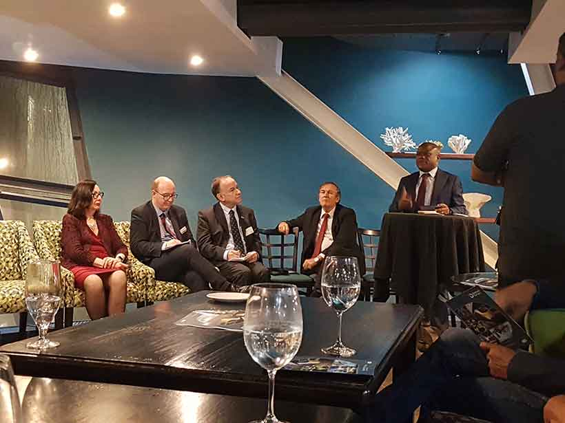 Kromek attended the trade mission to South Africa September 2019