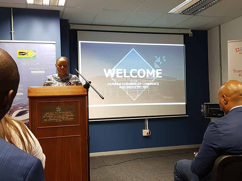 Trade mission to South Africa Durban Chamber of Commerce