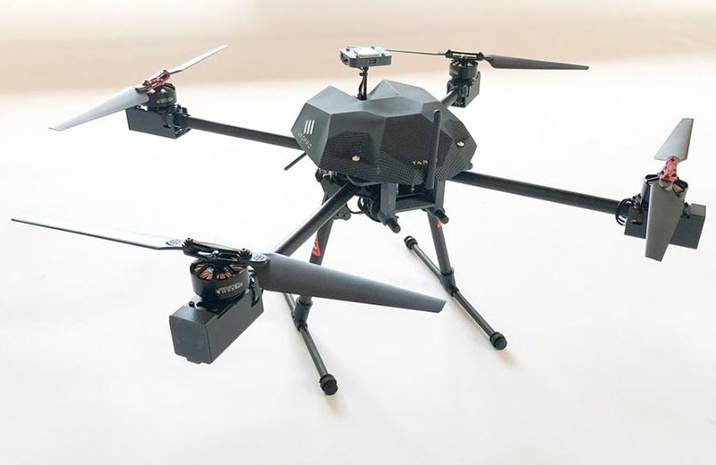 New radiation mapping drone