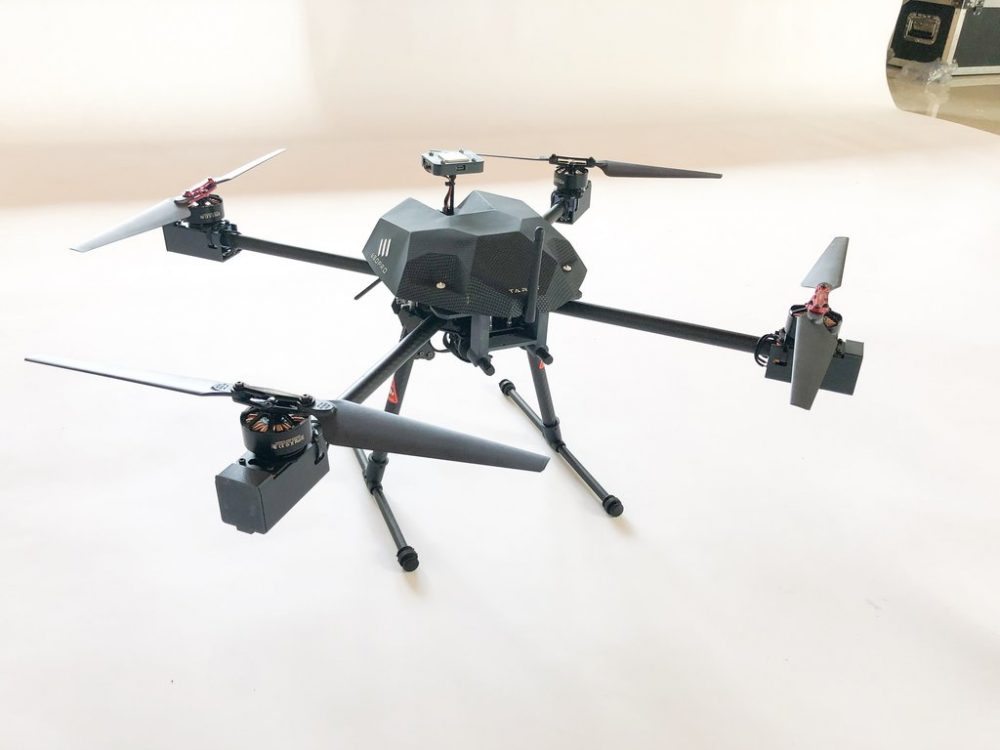 Tarot UAV radiation mapping drone
