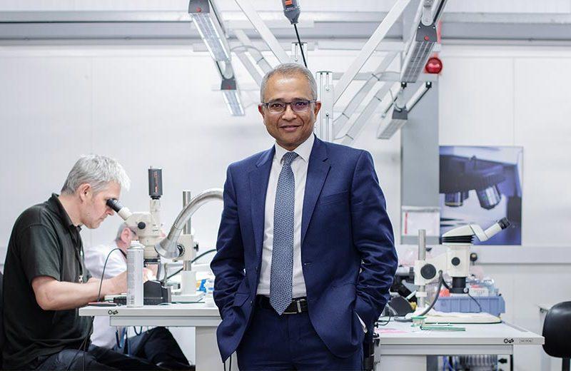 Dr Arnab Basu CEO Kromek