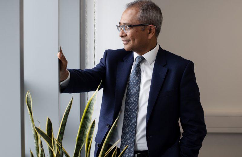 Kromek's CEO, Dr Arnab Basu, MBE