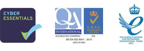 Cyber essentials and UKAS Management Systems and Queen's Award