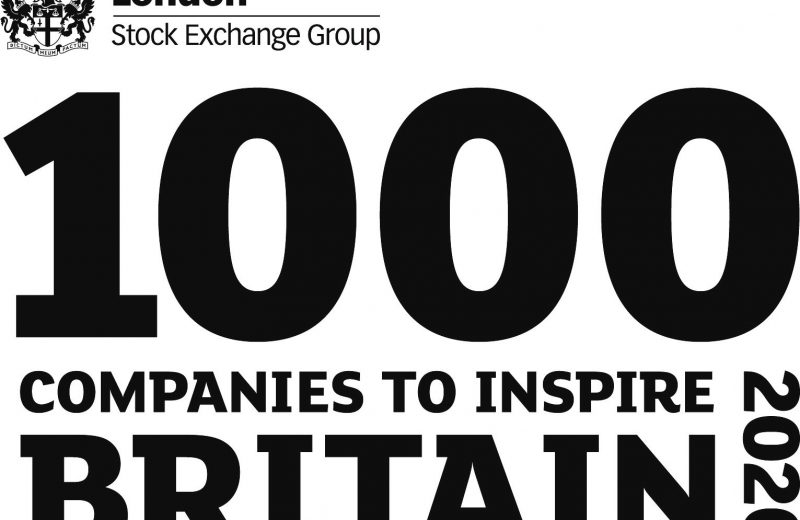 1000 Companies to Inspire Britain 2020