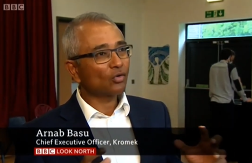 BBC Look North Interview - Bio Threat Detection System - Local School